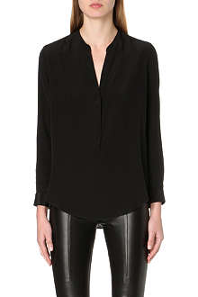 SANDRO Edda long-sleeved woven top