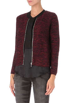 SANDRO Giselle tweed jacket