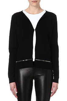 SANDRO Zip detail cardigan
