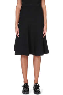 SANDRO Joy A-line skirt