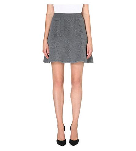 SANDRO Jam knee skirt (Grey