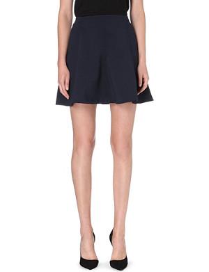 SANDRO Janice stretch-knit skirt