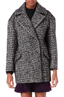 SANDRO Malice tweed coat
