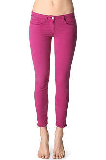 SANDRO Plus skinny low-rise jeans