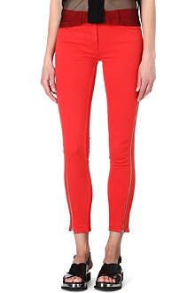 SANDRO Papaye zippered jeans