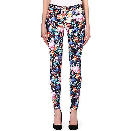 SANDRO Petunia skinny jeans (Pink