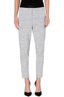 SANDRO Pretenders cotton-blend leggings