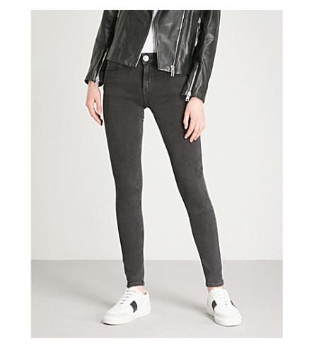 SANDRO Pam skinny jeans (Black