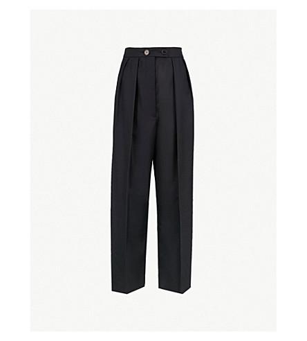 SANDRO 哈瓦那梭织裤子 (深 + 海军