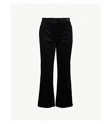 SANDRO 灯芯绒裤子 (黑色
