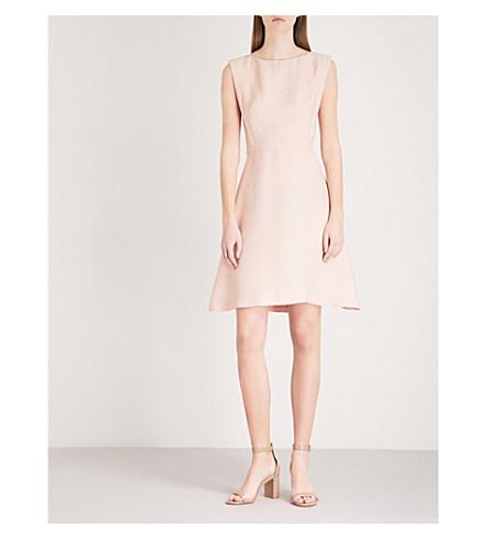 SANDRO Lace insert dress (Blush