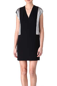SANDRO Romance crepe dress