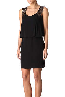 SANDRO Rebelote crepe dress