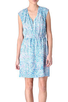 SANDRO Rebel silk dress