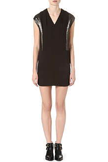 SANDRO Romance v-neck dress
