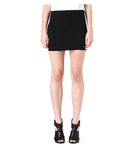 SANDRO Rsonner mini skirt (Ecru