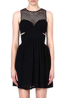 SANDRO Cut-out dress