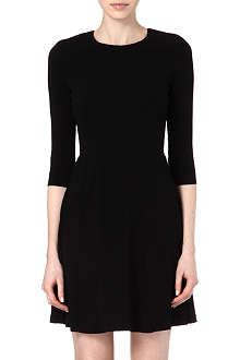 SANDRO Requiem keyhole flared dress