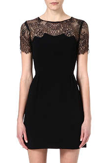 SANDRO Reelle lace detail dress