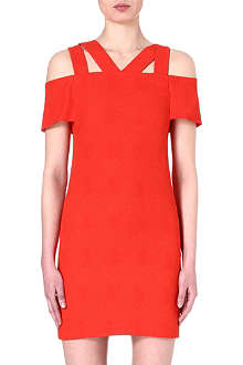 SANDRO Ristretto double strap dress