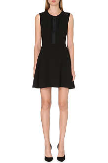SANDRO Raquel crepe dress