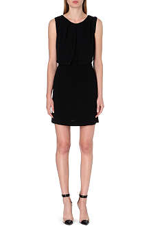 SANDRO Rihan sleeveless crepe dress