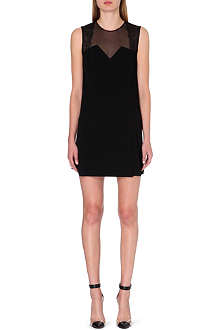 SANDRO Rozabel sleeveless crepe dress