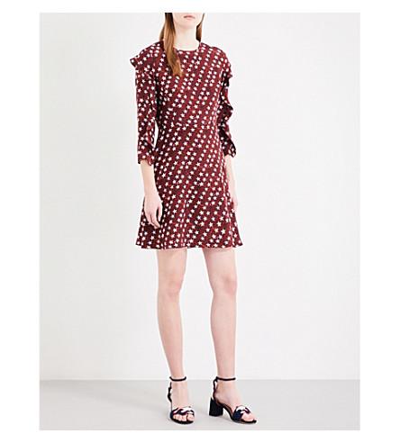 Clearance Newest Sandro Silk Mini Skirt Buy Cheap Websites Outlet Footlocker VVIS6