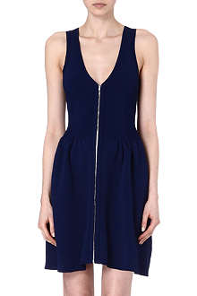 SANDRO Ravage front zip dress