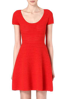 SANDRO Stripe detailed dress