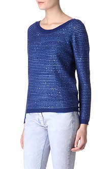 SANDRO Soft sequin jumper