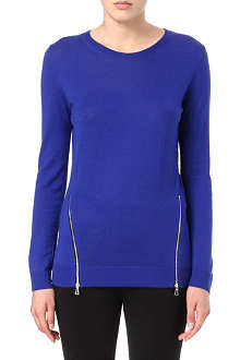SANDRO Secret wool and cashmere jumper