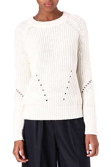 SANDRO Srie knitted jumper