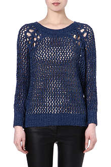 SANDRO Shooting loose knit jumper