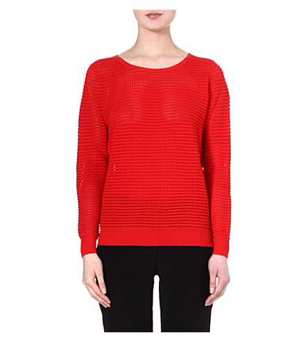SANDRO Superbe jumper (Red