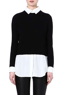 SANDRO Collared jumper