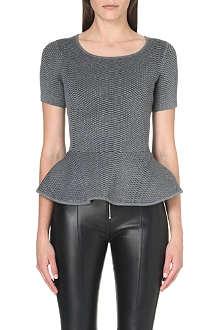 SANDRO Sisters short sleeved sweatshirt