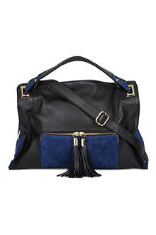 SANDRO Absinthe shoulder bag