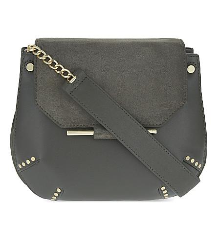 SANDRO Bonnie shoulder bag (Kaki