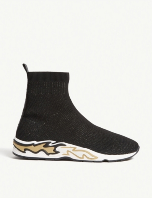 Flame woven trainers(8121160)