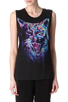 SANDRO Thriller vest top