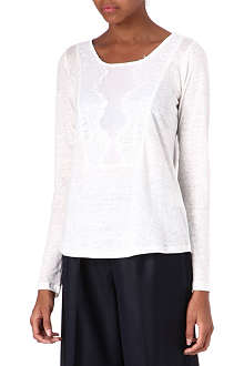 SANDRO Tam long-sleeved top