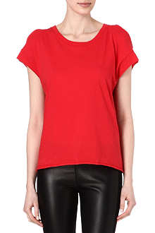 SANDRO Split detail t-shirt