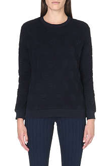 SANDRO Knitted polka-dot jumper
