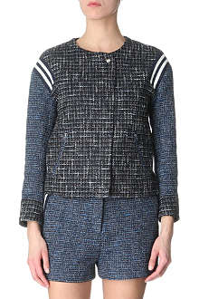 SANDRO Ventura tweed jacket
