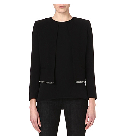 SANDRO Valeur short jacket (Black