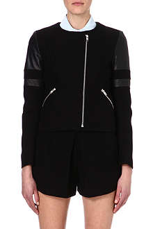 SANDRO Verseau stretch-cotton jacket