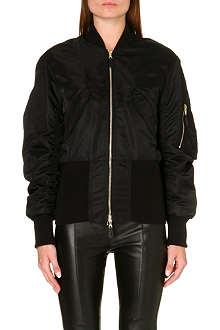 SANDRO Visage bomber jacket