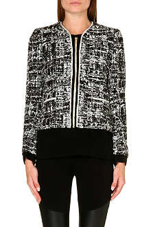 SANDRO Vitalic knitted jacket