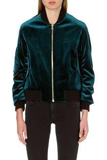 SANDRO Ventura velvet jacket